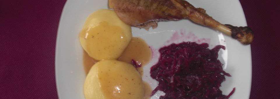 Pute mit Kräutern und Zitronenfüllung