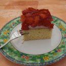 Erdbeer-Pudding-Schnitten