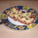 Pflaumenkuchen mit Mürbeteig und Streusel