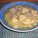 Kartoffelsuppe mit Mehlklöße